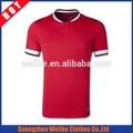 nouveau design de qualité thai rouge maillot de football de gros