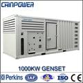 1000kw slient perkins diesel grupo electrógeno 60hz 1800rpm/min, alternador 220v