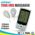 mini eletrônico tens ems máquina da massagem de corpo inteiro de choque elétrico de massagem