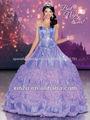 el más reciente de color púrpura vestidos de fiesta de quince años en color morado