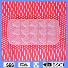 en forma de corazón de silicona ice cube bandejas