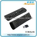 Smart TV ratón del aire mando a distancia con teclado