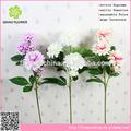 la decoración del crisantemo artificial blanco al por mayor