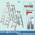 Escalera plegable de aluminio, escalera de aluminio