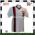 utiliza camisetas de fútbol de venta al por mayor en blanco camiseta de fútbol