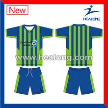 la personalización el nombre y número personalizado conjunto hecho camisetas de fútbol