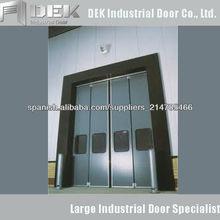 Hierro Puerta industrial plegable