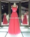 amostra real rose red cor cap luva elegante natal festa formal vestidos de adolescentes vestido de noite