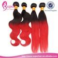 La trama del pelo humano de tailandia, extensiones de cabello de proteínas, tinto barato extensiones de cabello trama