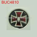 buc4810 caveira de metal redondas transversal fivelas para cintos