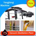 la tecnología de vacío purificador de aceite de decantación de residuos de reciclaje de aceite de la máquina