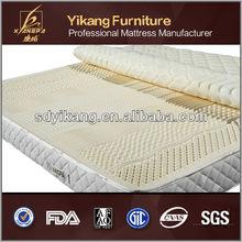 100% natural de la espuma de látex del colchón