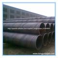 tuberia de acero al carbono de soldadra negro