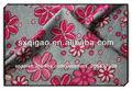 100% jersey de algodón hawaiano de flores de tela