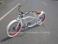 24 polegadas especializada venda quente com quadros coloridos adulto novo modelo de moto chopper bicicleta
