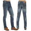 HA002 western style denim jean in men