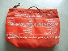 La moda de las señoras bolso organizador, bolsa en la bolsa bolso organizador