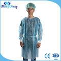 Doux et confortable robe infirmière infirmière uniforme gommage médicaux costumes, pp lab coat