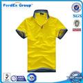 diseño lindo de la camisa de polo de la marca par falsa camisetas