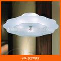 Verre plat de plafond fluorescente luminaire indirect f4-63483