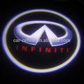 nuevo led láser el logotipo de la luz de cortesía para infiniti fx ex g g coupe jx q m qx q50