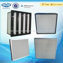 Miniplisados alta eficiencia del filtro de aire