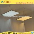 ultrafinos de innovadores lineal suspendido panel led de luz 600mm x 600mm