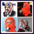 respiração escape de fumaça bombeiro máscara completa