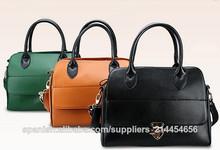 manufacotry totes guangzhou de gama alta de las mujeres de cuero reales