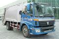 Foton auman 4*2 12 cbm camión compactador de basura, recogida de residuos camiones compresor