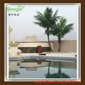 /de interior al aire libre decorativos los árboles de coco, al aire libre de plástico grande los árboles de la venta caliente