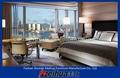 Barroco muebles sólido juego de dormitorio de madera tallada a mano estilo mh131211