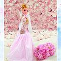 12 boneca com vestido de noiva
