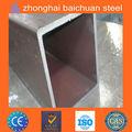 tubo de acero rectangular galvanizado en caliente