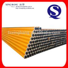 polietileno de alta densidad de poliuretano recubierto de espuma lleno de tubos de acero manta de aislamiento