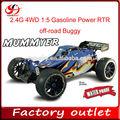 2.4g 4wd 1:5 enorme gasolina escala nitro poder rtr off- road buggy buggy
