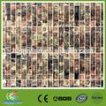 el último diseño de onda patrón de mosaico de vidrio