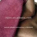 La acción de forro de tela de lana;