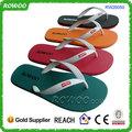 2014 china atacado baratos espuma de chinelos de borracha sola da sandália