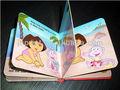 libro de cartón niño con alta calidad, la impresión en China