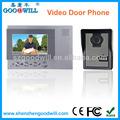 Caliente vendiendo timbre de la puerta de vídeo de comunicación 4.3 pulgadas color sistema de intercomunicación video
