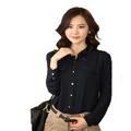 la oficina 2014 uniforme de los diseños para la mujer blusas