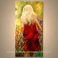 o mais novo artesanal arte galeria de pinturas a óleo para decoração