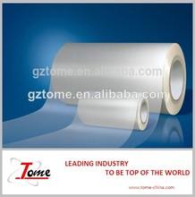 Film de laminage à froid, vinyle adhésif rouleau de papier décoré