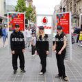 J1a-044 2013 al aire libre móvil billboard publicidad personalizada signos con batería recargable