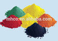 Fe2o3 óxido de hierro rojo/amarillo/negro/azul/marrón/verde
