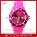 R10 ventas calientes reloj de silicona,reloj de moda barata promocional