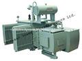 Transformador de la distribución eléctrica