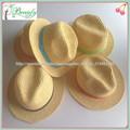 moda sombrero de panamá cuerda de papel