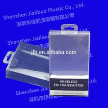 Acetato de plegable cajas de embalaje transparente/claro de pvc caja de embalaje